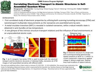 Correlating Electronic Transport to Atomic Structures in Self-Assembled Quantum Wires
