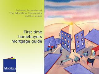 First time homebuyers   mortgage guide