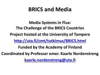 BRICS and Media