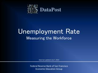 Unemployment Rate Measuring the Workforce