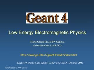 Low Energy Electromagnetic Physics