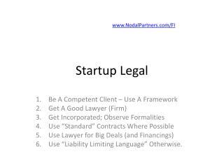 Startup Legal
