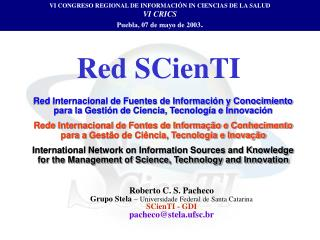Red SCienTI