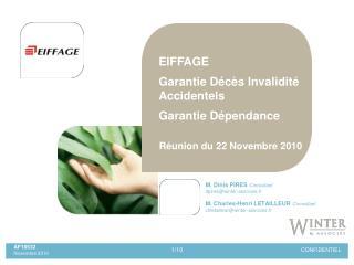 M. Dinis PIRES  Consultant dpires@winter-associes.fr M. Charles-Henri LETAILLEUR  Consultant