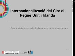 Internacionalització del Circ al Regne Unit i Irlanda