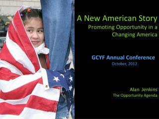 GCYF Annual Conference October, 2012