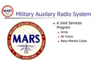 Military Auxilary Radio System