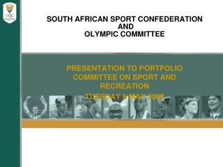SOUTH AFRICAN SPORT CONFEDERATION  AND   OLYMPIC COMMITTEE