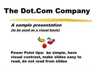 The Dot.Com Company