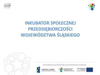 Inkubator Społecznej Przedsiębiorczości Województwa Śląskiego
