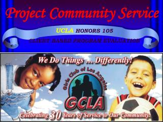 Project Community Service