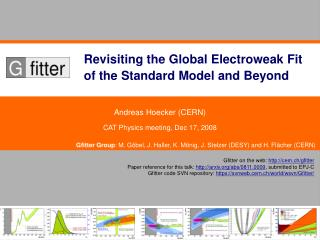 Revisiting the Global Electroweak Fit of the Standard Model and Beyond