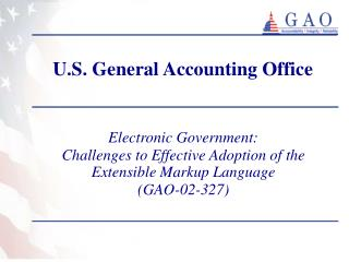 U.S. General Accounting Office