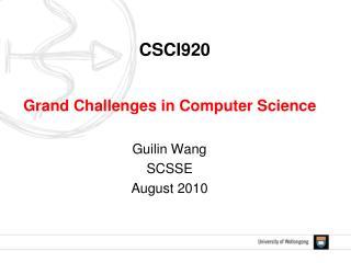 CSCI920