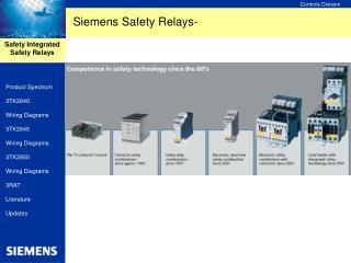 Siemens Safety Relays-