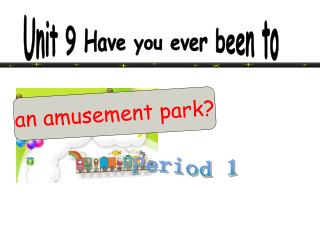 an amusement park?