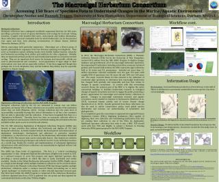 The  Macroalgal  Herbarium Consortium