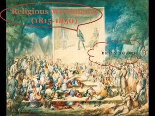 Religious Movements (1815-1850)