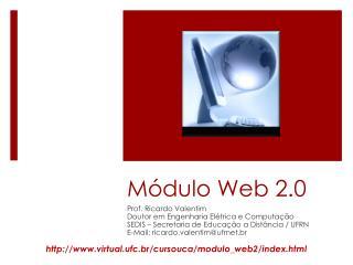 Módulo Web 2.0