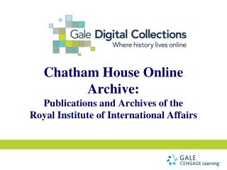 "Watch the video ""Chatham House""  by Director, Robin Niblett"