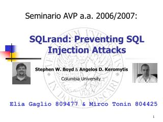 SQLrand: Preventing SQL Injection Attacks