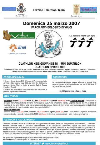 Domenica 25 marzo 2007 PARCO ARCHEOLOGICO DI VULCI