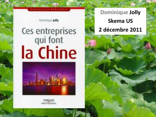 Dominique  Jolly Skema  US 2 d�cembre 2011