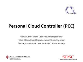 Personal Cloud Controller (PCC )