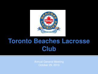 Toronto Beaches Lacrosse Club