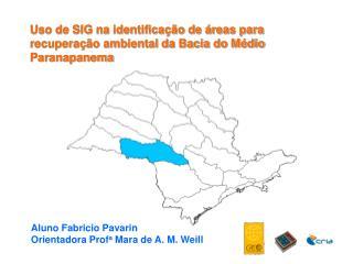 Uso de SIG na identificação de áreas para recuperação ambiental da Bacia do Médio Paranapanema