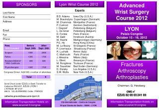 LYON Palais Congrès October 15 - 16, 2012