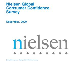 Nielsen Global  Consumer Confidence Survey