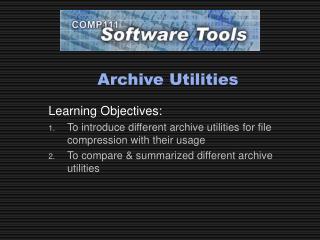 Archive Utilities