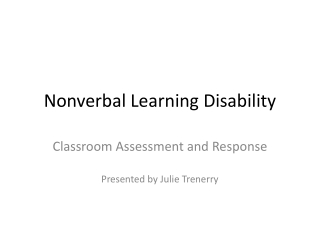 Teaching and Learning Approaches for Children With Asperger s Syndrome