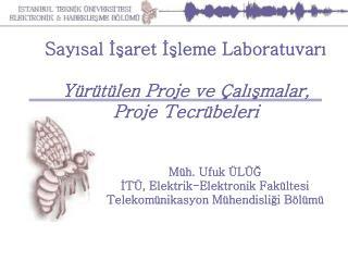 Sayısal İşaret İşleme Laboratuvarı Yürütülen Proje ve Çalışmalar, Proje Tecrübeleri