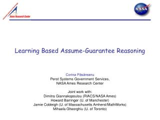 Learning Based Assume-Guarantee Reasoning