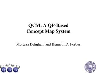 QCM: A QP-Based  Concept Map System