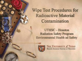 Wipe Test Procedures for Radioactive Material Contamination