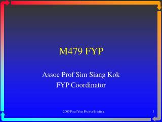 M479 FYP