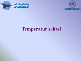 Temperatur sahəsi