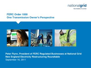 FERC Order 1000 One Transmission Owner�s Perspective