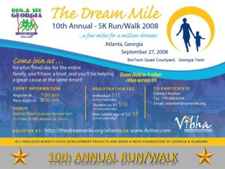 10th ANNUAL RUN/WALK