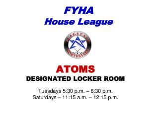 FYHA House League