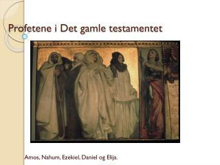 Profetene i Det gamle testamentet
