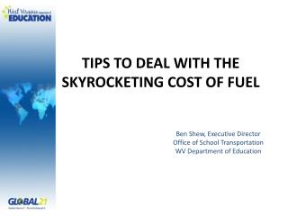 TIPS TO DEAL WITH THE SKYROCKETING COST OF FUEL