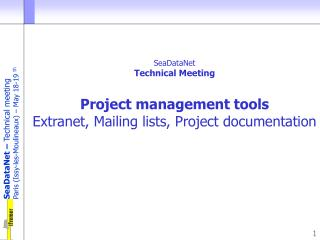 P roject management tools