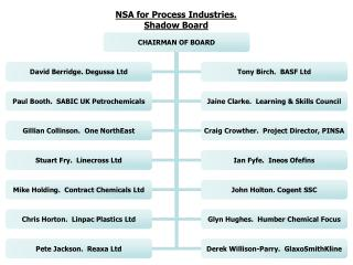 NSA for Process Industries.  Shadow Board