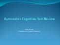 Gymnastics Cognitive Test Review
