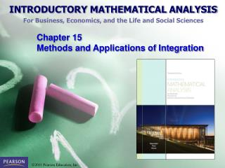 Chapter  15  Methods and Applications of Integration
