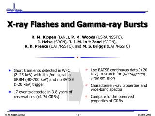 Use BATSE continuous data (>20 keV) to search for ( untriggered )  g -ray emission